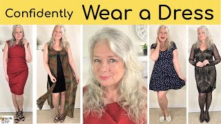 Confidently Wear Dresses, My Fav Fashions & Styles Lookbook for Mature Women, Awesome over 50