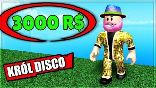 I SPENT 3000 R $ ON COSTUME OF KING DISCO POLO IN ROBLOX