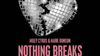 Nothing Breaks  Like A Heart 💔 - Miley Cyrus & Mark Ronson (Promo) Video