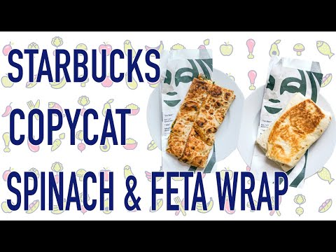 Recreating the Starbucks Spinach and Feta Wrap at Home!