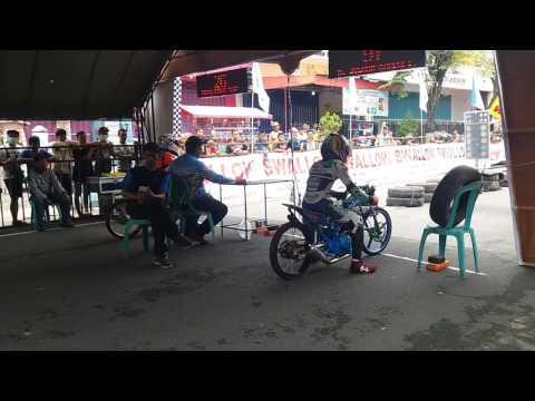 Dragbike tulungagung 26 maret 2017 kelas Fu 200cc