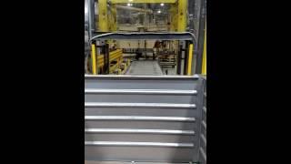 Automatic Steel Bin Stacker
