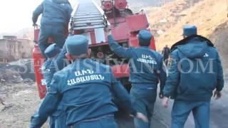 Ալավերդու հրշեջ փրկարարները Դեբեդ գետից դուրս բերեցին 45 ամյա տղամարդու դի