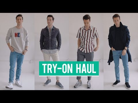 Mango Man Spring 2018 Try-On Haul | Men's Fashion | Outfit Inspiration