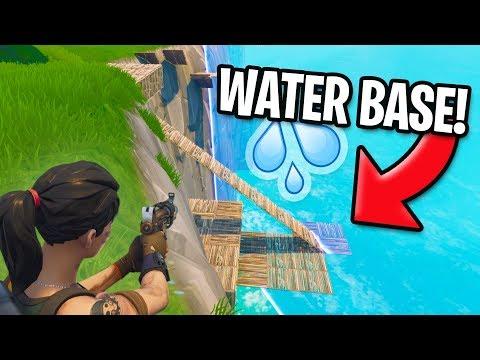 FLOATING FORT! *WATER BASE!* | Fortnite Battle Royale