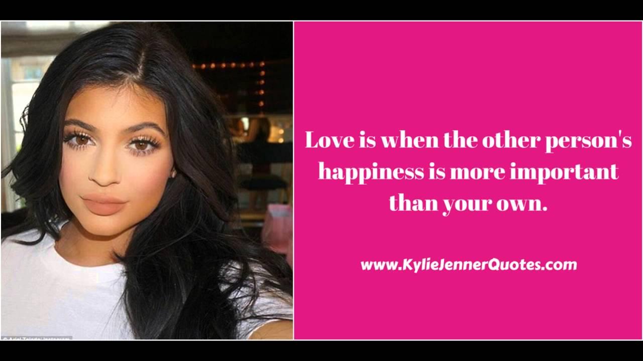 e50ef67e62fef Kylie Jenner Quotes - YouTube