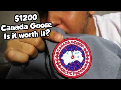 $1200 CANADA GOOSE JACKET! IS IT WORTH IT?