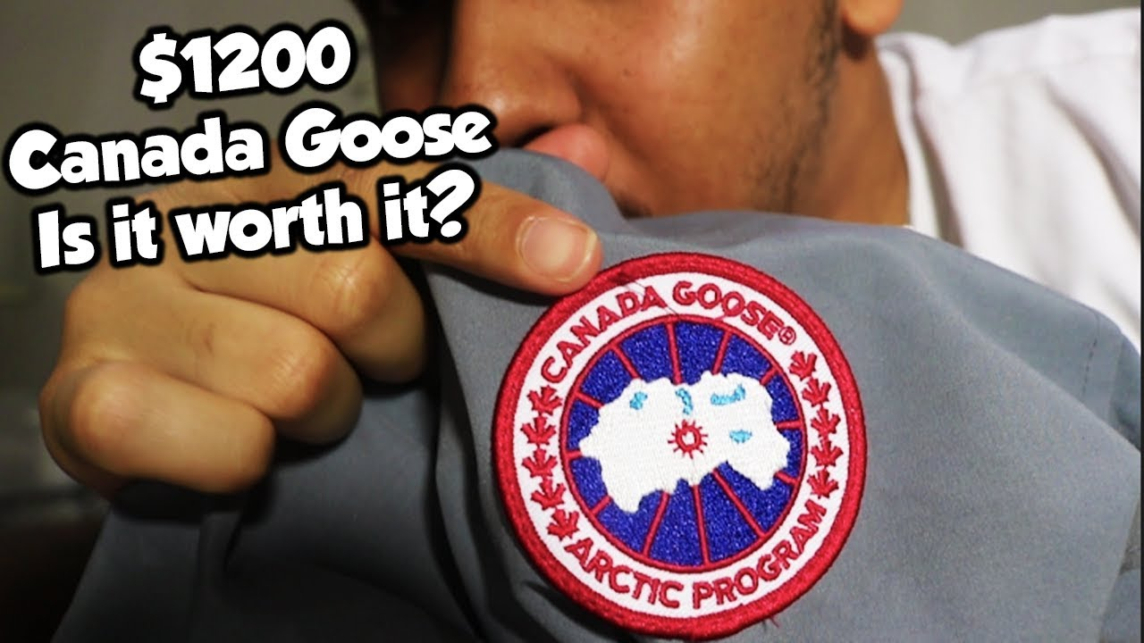 canada goose really worth it