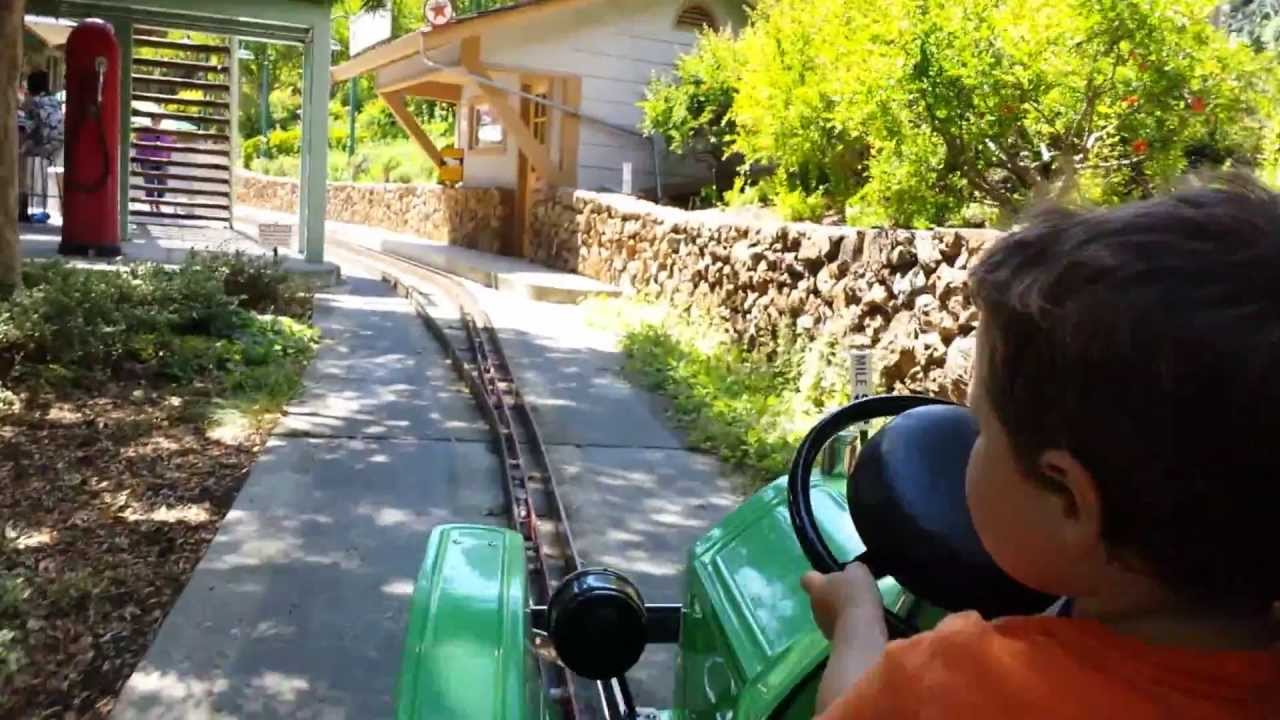 Cars Ride At Gilroy Gardens Youtube