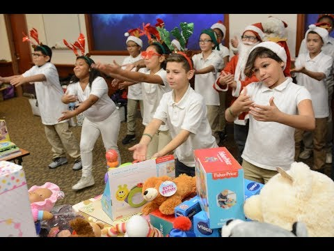Springfield's Lincoln Elementary School perform at Baystate Medical Center