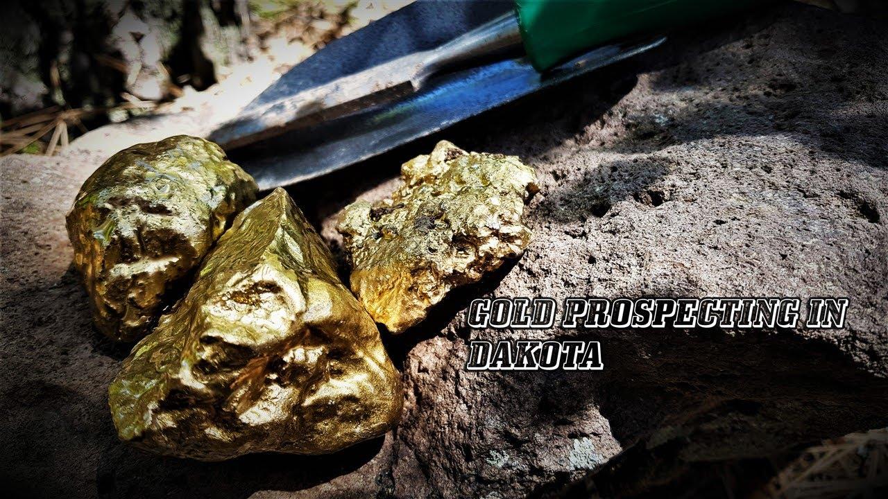 GOLD PROSPECTING IN DAKOTA | GOLD NUGGET | GOLD NUGGET