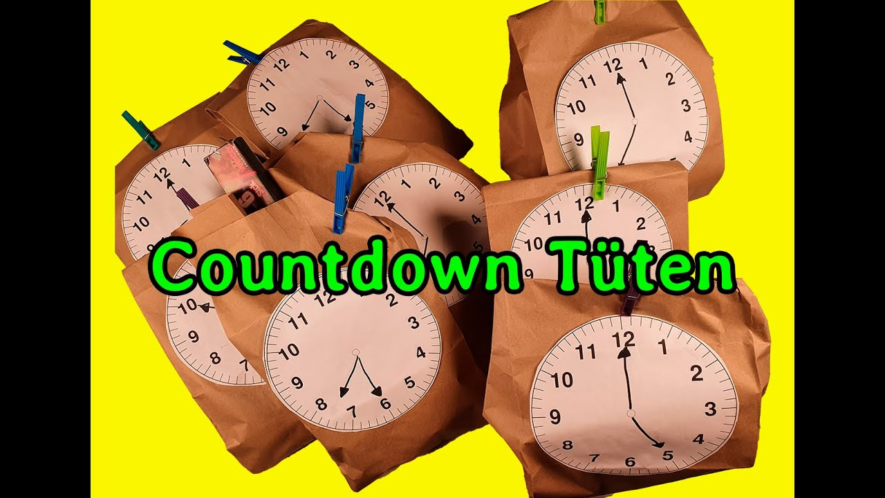 Silvester Countdown Tüten - YouTube