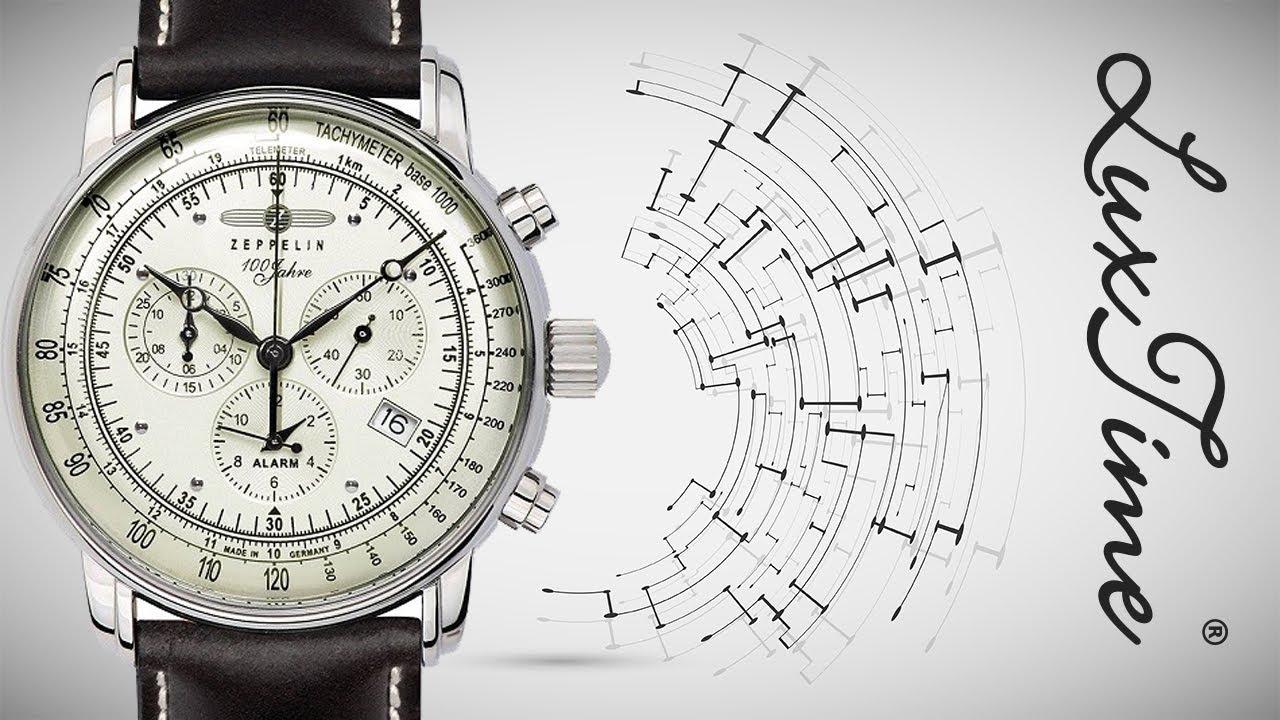 LuxTime.pl zegarek ZEPPELIN 8680-3 - YouTube 59b59189df