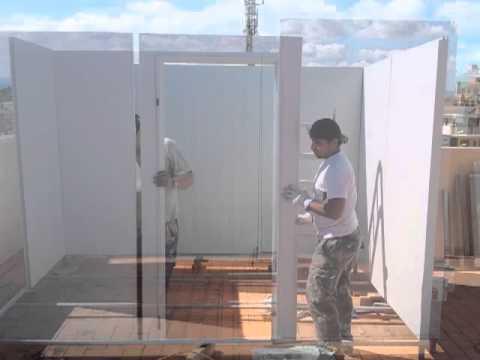 Casetas prefabricadas montar un trastero youtube for Casetas aluminio para terrazas
