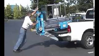 VIDEO Loading a Genie AWP into a Pickup Truck