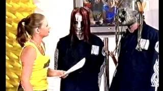 The full video of Slipknot being interviewed on an Australian TV fr...