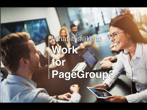 Working for PageGroup - career opportunities