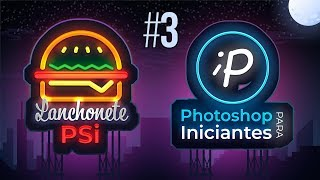 Como criar Logo no Photoshop com Efeito Neon | Tutorial #3