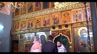 Венчание в храме успения в Вешняках