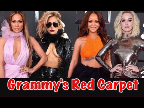 FUMI'S FASHION POLICE, THE GRAMMY'S, 2017 RED CARPET REVIEW