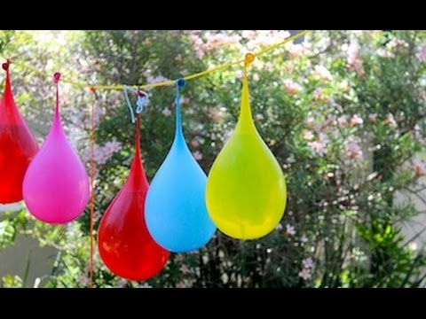 How to make a water balloon pinata party game