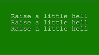 Trooper-Raise a Little Hell (With Lyrics)