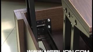 видео Стильный стол трансформер обеденный удобный круглый раздвижной