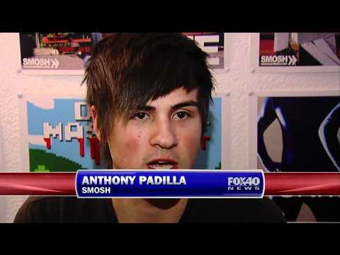SMOSH Interview - Fox 40 News
