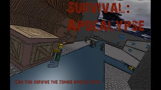 ROBLOX Survival: Apocalypse. How to make Bed and Torch Stand