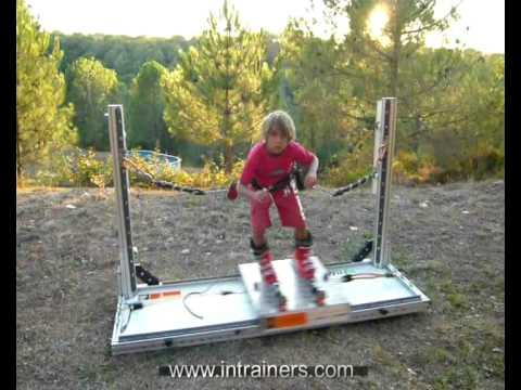 Intrainers Alpine Ski Training Bench 393 Youtube