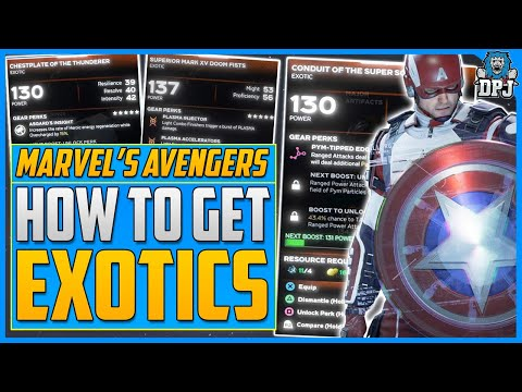 Marvel's Avengers | How To Get EXOTICS - Exotic Gear Farm Guide - How To Unlock Elite Heroic Hives