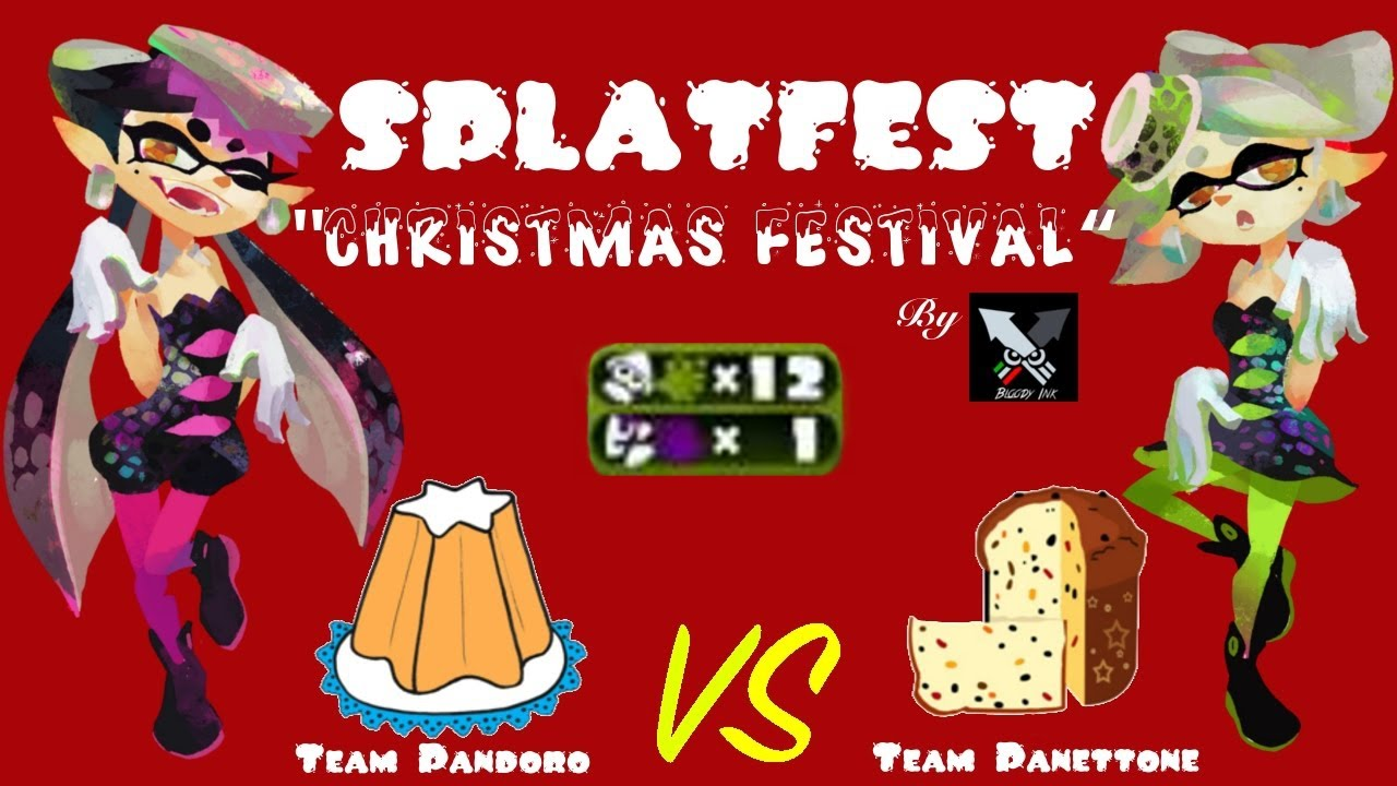 The best game of Splatoon Christmas Festival by Bloody Ink - YouTube