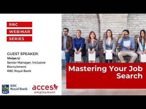 RBC Royal Bank Webinar | Mastering Your Job Search