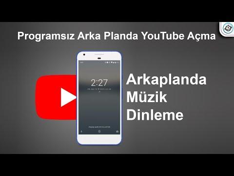 Android Programsız Arka Planda YouTube Açma