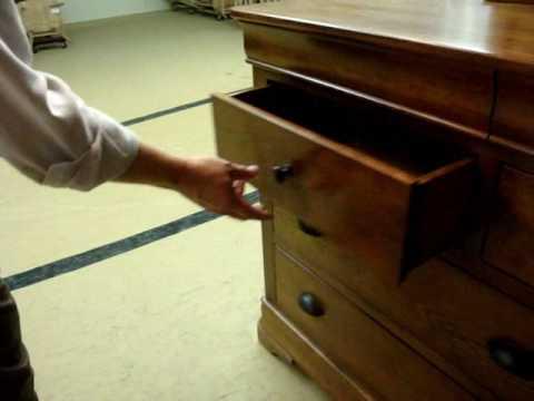 Amish Furniture Versailles Triple Dresser