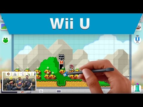 Nintendo Treehouse Super Mario Maker Workshop