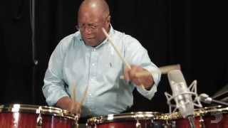 Billy Cobham Drum Solo in the Evans Studio