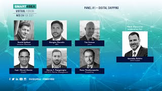 2021 SMART4SEA Virtual Forum Panel 1: Digital Shipping