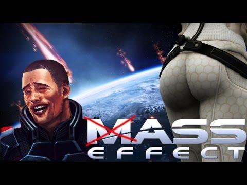 Mass Effect 2: Shepard's Reaction To Miranda's Ass