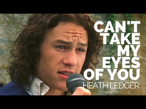 Heath Ledger Sings cant take my eyes off you