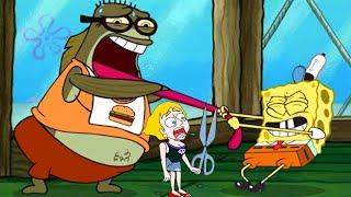 Spongebob Games Frenzy Vs Save The Girl Gameplay Walkthrough Win/Fails Pro Vs Noob