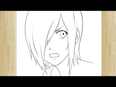 How To Draw Touka Kirishima From Tokyo Ghoul Como Desenhar A