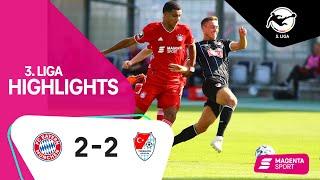 FC Bayern München II - Türkgücü München | 1. Spieltag, 2020/2021 | MAGENTA SPORT