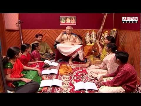 Indian classical music Lessons By Dr. Nookala China Sathyanarayana - part 15