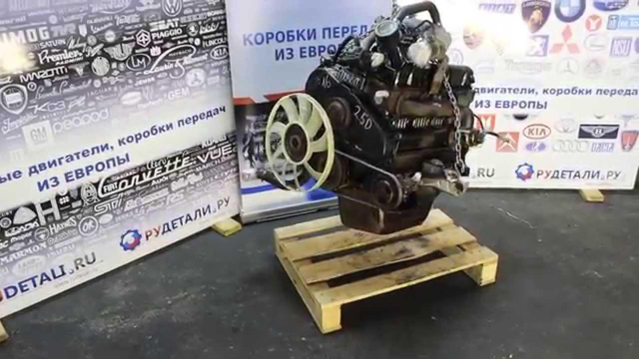 Тестированный б/у двигатель FORD TRANSIT 2.5D 4FB из Германии - качество HD -