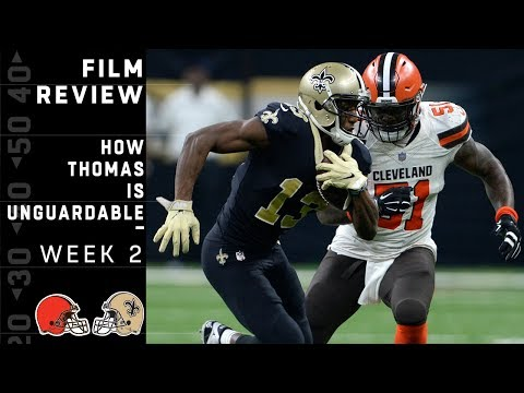 Why Michael Thomas is Unguardable | NFL Film Review