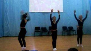 trio-gimnastica ritmica  liceul ovidius constanta