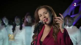 Chimene Badi & Gospel Pour 100 Voix - Lettre à France - Les 130 ans de la Tour Eiffel YouTube Videos