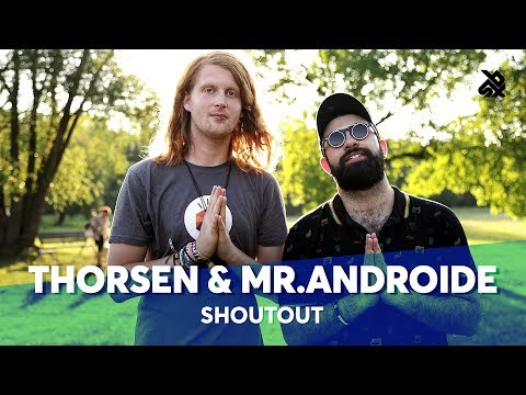 MR.ANDROIDE & THORSEN | Back To Black | World Beatbox Camp 2018