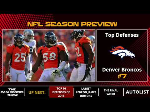 NFL Season Preview: Top 10 Defenses Of 2018